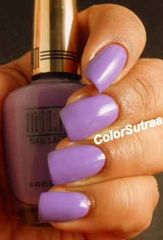 MILANI Spring 2014 collection : Swatches and Review (PART I) Vivid Violet