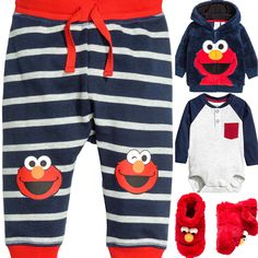 H&M baby boy outfit idea. 2016 fall collection.
