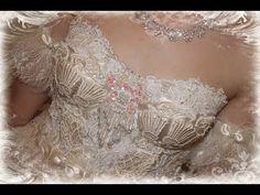 Altered Corset / Ballerina Costume with Tresors de Luxe