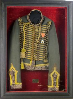 Napoleon First Empire Light Cavalry Seventh Hussars Jacket, Early 19th C., N5ENG…