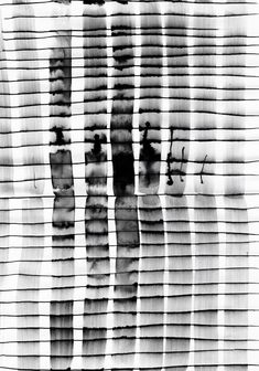 Monochrome Mark Making - inky print design - black & white pattern // Emilio… Black White Pattern, White Patterns, Textures Patterns, Print Patterns, Monochrome Pattern, Surface Pattern Design, Pattern Art, Motifs Textiles, Glitch Art