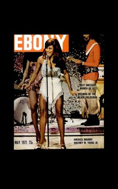 Thursday, May 17, 2012: Rolling down the river with Tina Turner! May 1971