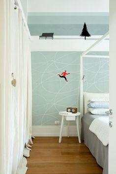 10 carte da parati per vestire a nuova la camera dei bambini | 10 kids room wallpaper