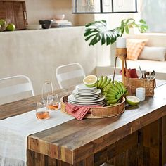 Emmerson Dining Table west elm comes in 3 lengths up to 87