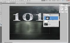 Photoshop Tips: combine images with text
