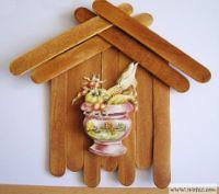 Gallery.ru / Фото #28 - поделки из медицинских шпателей или палочек от мороженого - Vladikana