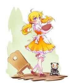 Little Yang as Goldilocks