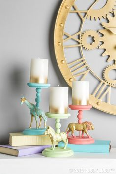 Turn animal figures into a houseful of unexpectedly delightful decor!