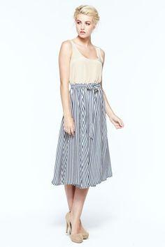 Paper Crown  Mid calf length skirt. Elastic waistband with ...  elfsacks