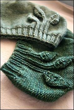 This is darling. I'm embarrassed to admit that this is one full step more complicated than I am able to knit. Durrrr.