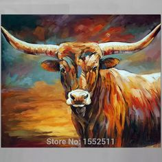 Look what I found on AliExpress Canvas Wall Art, Cow Paintings On Canvas, Cow Canvas, Farm Paintings, Animal Paintings, Oil Painting On Canvas, Country Paintings, Bull Painting, Horse Oil Painting