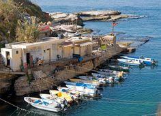 Boats in Beirut, Lebanon