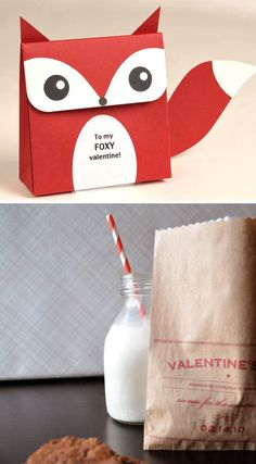 Packaging Saint Valentin.