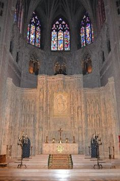 One of many chapels. National Cathedral, Washington, DC. Had the pleasure of going here!!!