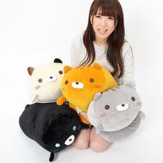 Sasurai no Tabineco Mikemura-san Fuwa Mocchi Large Plush Collection Kawaii Plush, Cute Plush, Crazy Cat Lady, Crazy Cats, Neko Atsume Plush, Pusheen Plush, Kawaii Bedroom, Cute Stuffed Animals, Mode Shop