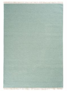 Tapis kilim uni RAINBOW vert de la collection Unamourdetapis