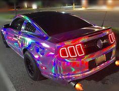 This is a awesome rainbow mustang – Autos online Maserati, Bugatti, Top Luxury Cars, Luxury Sports Cars, Sport Cars, Carros Lamborghini, Lamborghini Cars, Ferrari F40, Lamborghini Gallardo