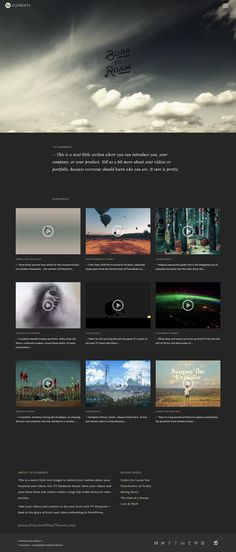 Silverscreen - A Theme for Movies, Filmmakers, and Production ...