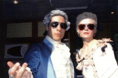 Marie Antoinette - if only there had been sunglasses in the 18thC for the celebs to hide behind... Louis and Marie may have escaped their fate... [I feel a Ray-Ban commercial coming on]