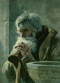 Image result for crooked old man fantasy painting