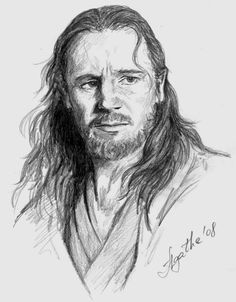 Qui-gon art | Qui-Gon by ~peterbilt379 on deviantART
