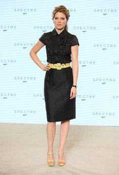 Léa Seydoux Puts a Parisian Spin on Bond Girl Style  http://www.vogue.com/5829089/lea-seydoux-james-bond-celebrity-style/