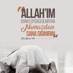 Allah'ım! Bana faydası olmayan namazdan sana sığınırım. [Ebû Davud, 1549]  #Allah #hadis #namaz #fayda #dualar #amin #hadisler #dua #istanbul #türkiye #ilmisuffa