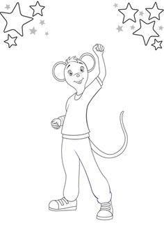 Desenho de Marco dançarino de