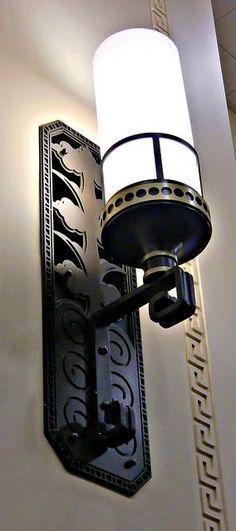 Art Deco Interior-wall-lamp