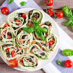 Vegan Basil Ricotta Pinwheels- includes a great recipe for vegan ricotta from cashews, almond milk, and a few other ingredients. Sounds so tasty!