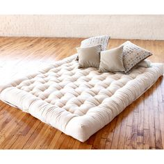 Enjoy the flattest, firmest, and supportive mattress! The boulder mattress is made from organic cotton and wool to provide support and wick away moisture and is Handmade in the USA.