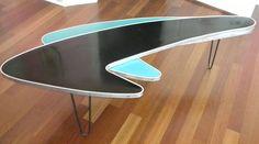 1950s Boomerang Table via http://1950satomicranchhouse.blogspot.com