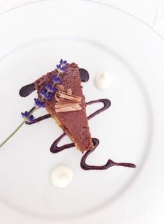 A creamy and rich chocolate cheesecake made with lots of crème cheese, whipped cream and quality chocolate. Served with chocolate sauce and whipped cream Elegant Desserts, Chocolate Cheesecake, Food Design, Whipped Cream, Food To Make, Competition, Dishes, Baking, Ethnic Recipes