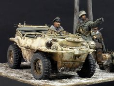 Risultati immagini per models diorama Military Figures, Military Diorama, Tank Armor, Model Tanks, Military Modelling, German Army, Panzer, Toy Soldiers, Armored Vehicles