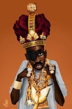 Drawing - The Rula by Nelson Dedos Garcia Arte Hip Hop, Hip Hop Art, Black Cartoon Characters, Cartoon Art, Chris Brown Art, History Of Hip Hop, Rap City, Black Art Pictures, Basketball Photography