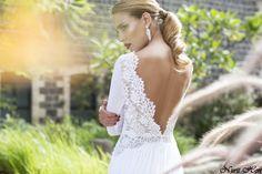 Nurit Hen wedding gown, 2014 summer collection. Elad@nurit-hen.co.il +972-3-9414166/+972-50-8712356 www.nurit-hen.co.il #wedding #fashion #weddinggown #weddinginspiration #nurithen #gown #dress #weddingdress