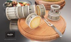 Le fromage imprimé by Print Ads