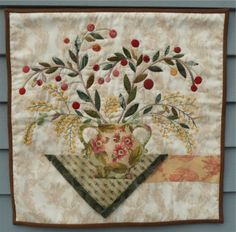 Alidiza: Lovely quilt started at class by Elly Sienkiewicz - So pretty!