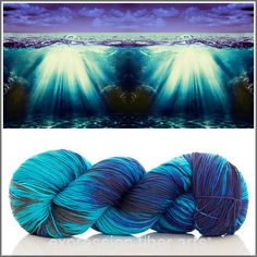 Expression Fiber Arts Yarn - SECRETS OF THE SEA 'RESILIENT' SUPERWASH MERINO SOCK, $24.00 (http://www.expressionfiberarts.com/products/secrets-of-the-sea-resilient-superwash-merino-sock.html)