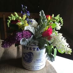 Vermont Wedding Flowers at The Skinner Barn; Designed by Alison Ellis of Floral Artistry.