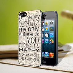 iPhone Case You are my sunshine