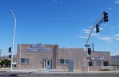 """Community Resource Center """" in Barstow California  Route 66 on My Mind """" Route 66 blog ; http://2441.blog54.fc2.com https://www.facebook.com/groups/529713950495809/ http://route66jp.info"""