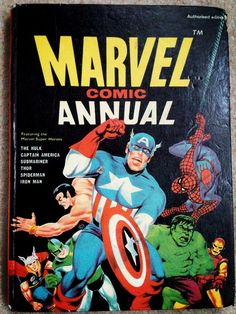 Marvel Comic Annual via @gil3s