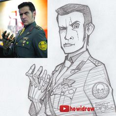 Sketch Mark Meer by Banzchan.deviantart.com on @DeviantArt