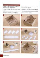 ru / Фото - Chiffoleau B., Trois N., Haccourt Vautier I. - Brode & C - WhiteAngel Diy Craft Projects, Craft Tutorials, Diy And Crafts, Paper Crafts Origami, Pretty Box, Altered Boxes, Handmade Books, Diy Box, Book Binding