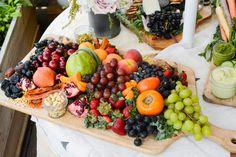 diy bohemian wedding ideas fruit