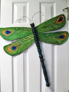 136 Best Dragonfly And Butterfly Art Using Table Legs And Spindles