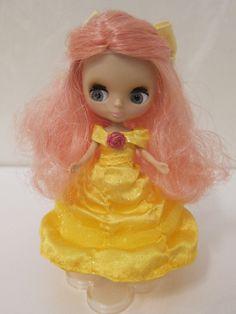 Takara Tomy CWC Petite Blythe Doll Mademoiselle Rosebud RARE | eBay