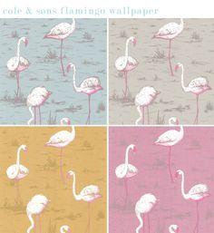 Cole & Sons Flamingo wallpaper