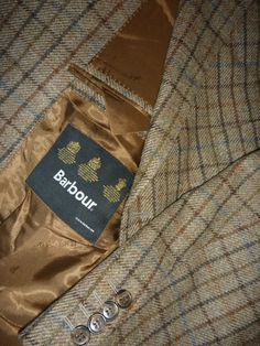 BARBOUR Country Sport Tweed Herringbone JACKET BLAZER Coat chest 27 | eBay